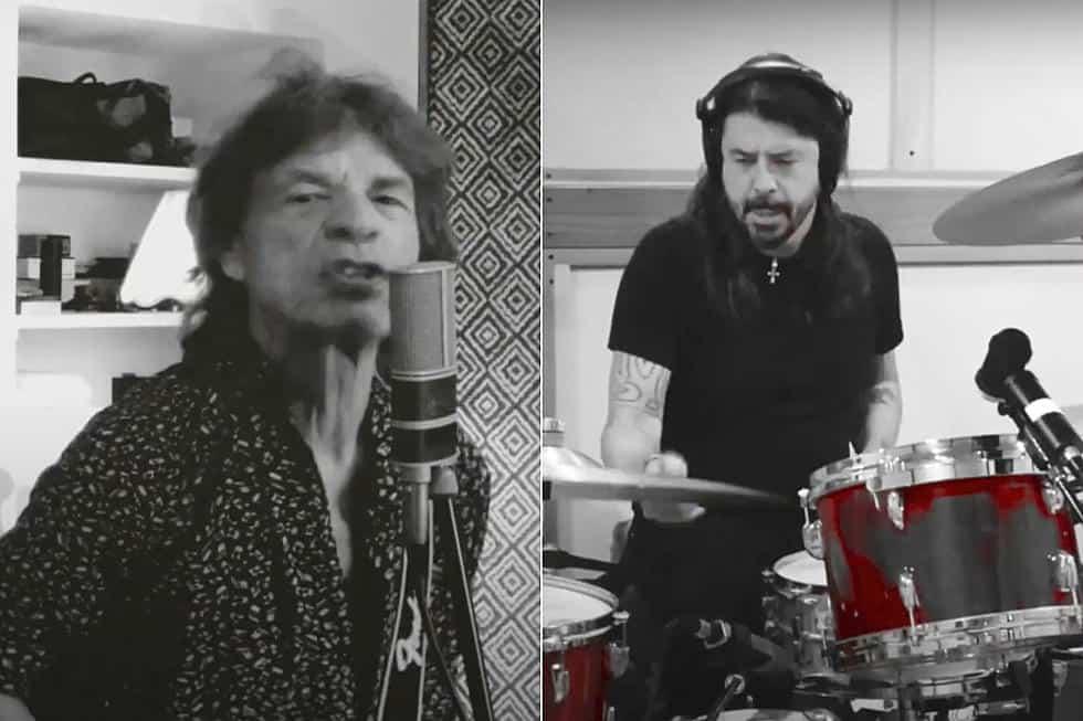 Mick Jagger  i Dave Grohlom izbacili pjesmu sa kojom slave kraj lockdowna