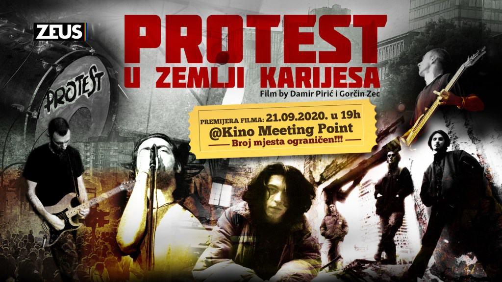 Pogledajte trailer filma o kultnom sarajevskom bendu 'Protest'