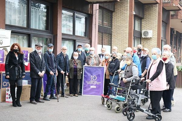 Telemach dodijelio vrijednu donaciju Domu penzionera u Tuzli
