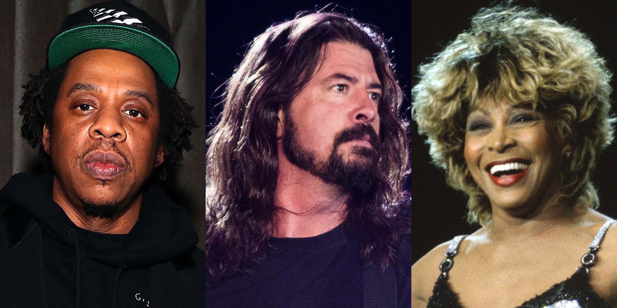 Tina Turner, Jay-Z i Foo Fighters izabrani u kuću slavnih rock muzike
