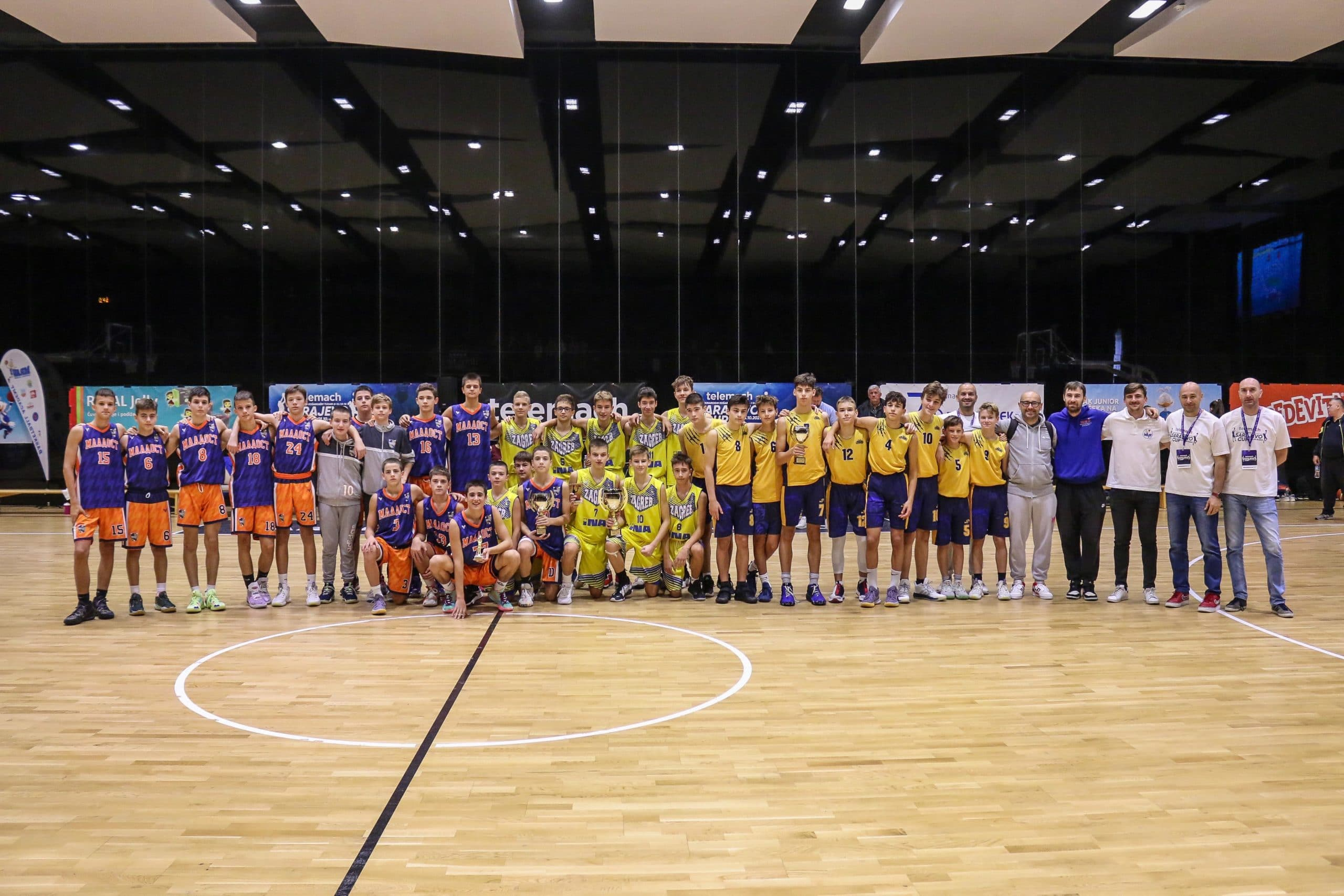 Telemach Sarajevo Cup /Trofeji za OKK Spars, ŽKK Primorje i Akademiju Mrav Zagreb